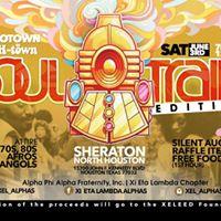 Motown H-town SOUL TRAIN Edition