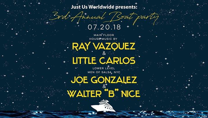 Justus Worldwide 3rd Annual Midnight Boatride 2018