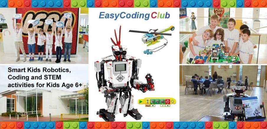 Fun Lego Robotics Coding & STEM Workshop - Basic Course (Aged 6) Bromley