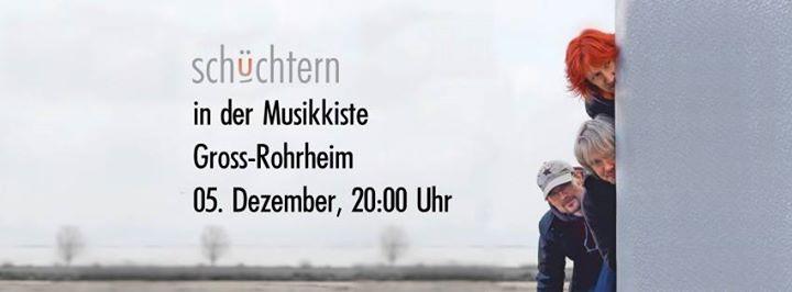 Schchtern In Der Musikkiste At Gaststtte Zorbas Darmstadt