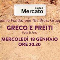 La Fondazione The Brass Group presenta Greco e Preiti