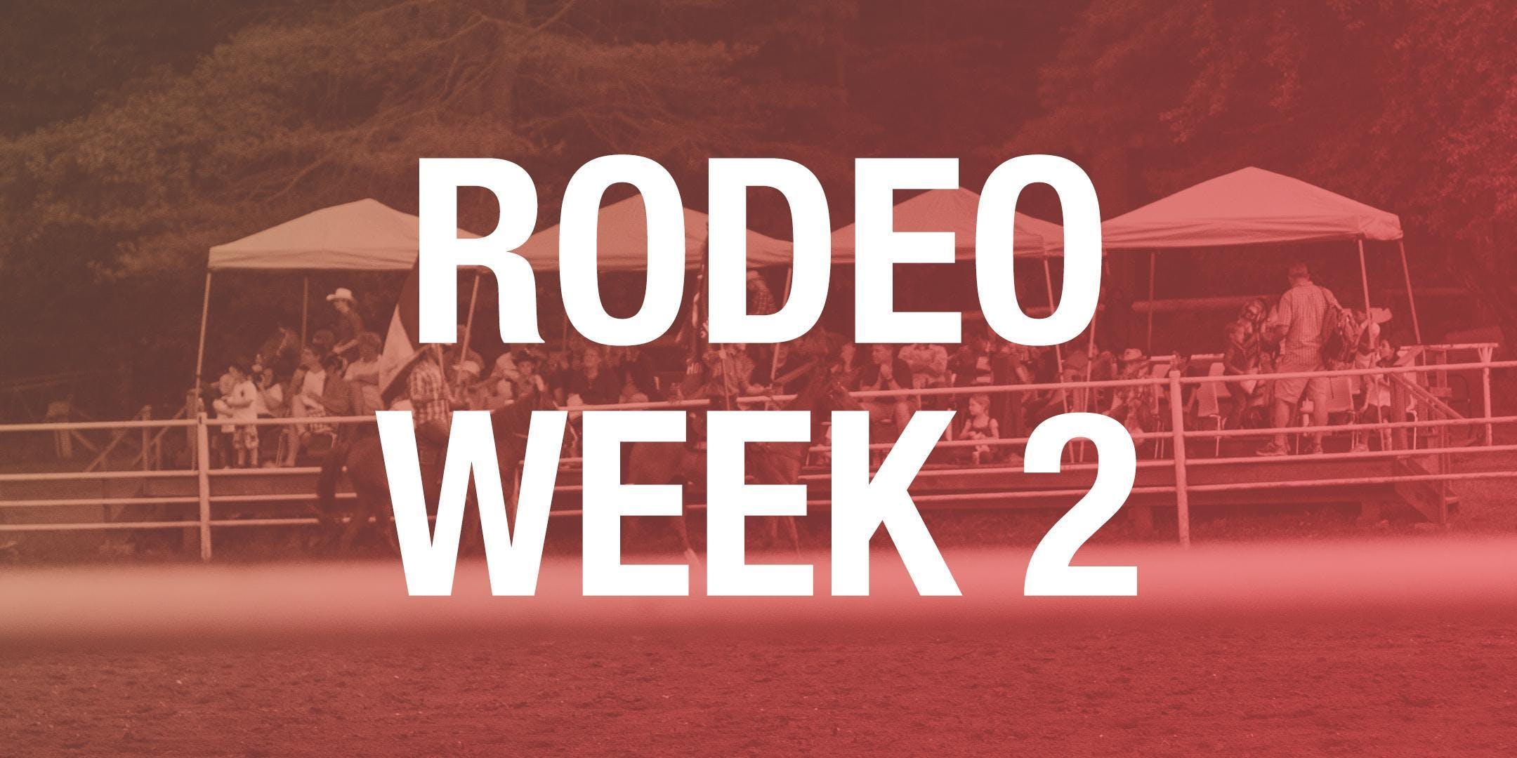 Rodeo Box Seats - Week 2 2018
