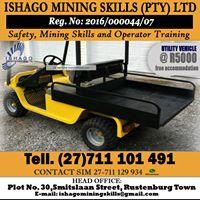 Utility vehicle training courses in rustenburg 27711101491