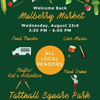 Mulberry Markets Back to School Bash