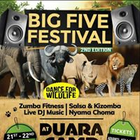 BIG FIVE Music Festival April 2018 - 2nd Edition