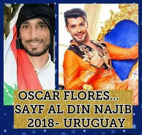 Bellystars 2018 OSCAR FLORES Y SAYF AL DIN NAJIB