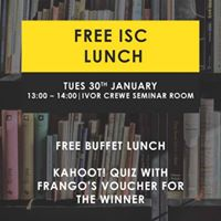 Free ISC Lunch