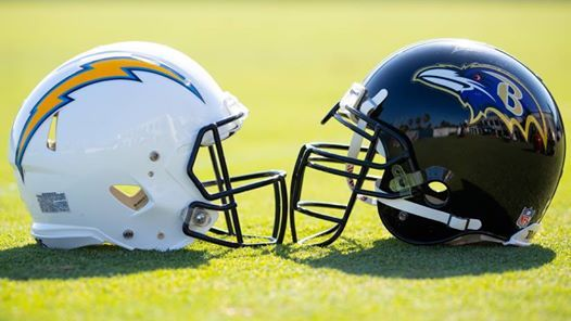 Los Angeles Chargers VS Baltimore Ravens