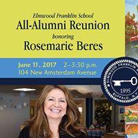 All-Alumni Reunion honoring Rosemarie Beres