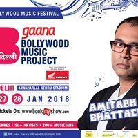 Amitabh Bhattacharya  Bollywood Music Project - Delhi 2018