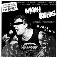 Night Birds  Western Addiction  Moral Panic