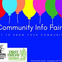 First Friday Community Fair