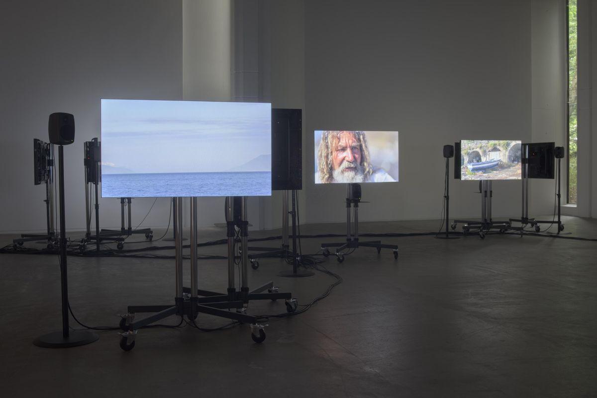 Artist Talk Sven Anderson & Gerard Byrne on A Visibility Matrix