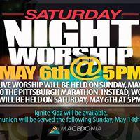 Saturday Night Worship