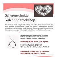 Renfrews Scherenschnitte Valentine Workshop