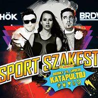 Sport Szakest a BRDWY klubban