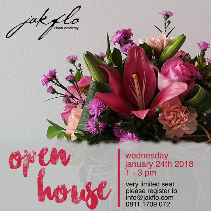 Open House Jakflo Floral Academy