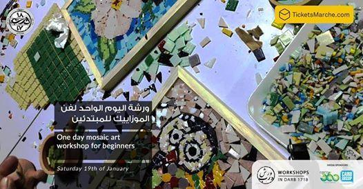 One day Mosaic art workshop for beginners Workshop