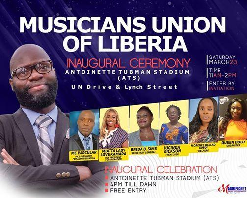 Musicians Union Of Liberia (MULIB) Inaugural Ceremony