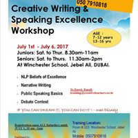 Speaking Excellence Workshop