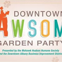 Downtown is Pawsome Garden Party