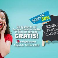 Intalnire cu reducerile Europa Travel de Targul de Turism 2017