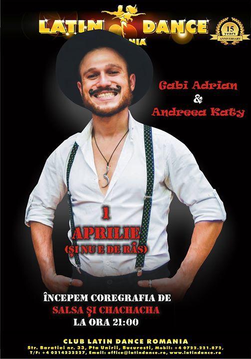 1 Aprilie i nu e de rs - coregrafie salsa & chachacha