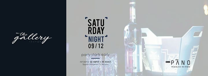 Saturday 912 at Gallery Lounge