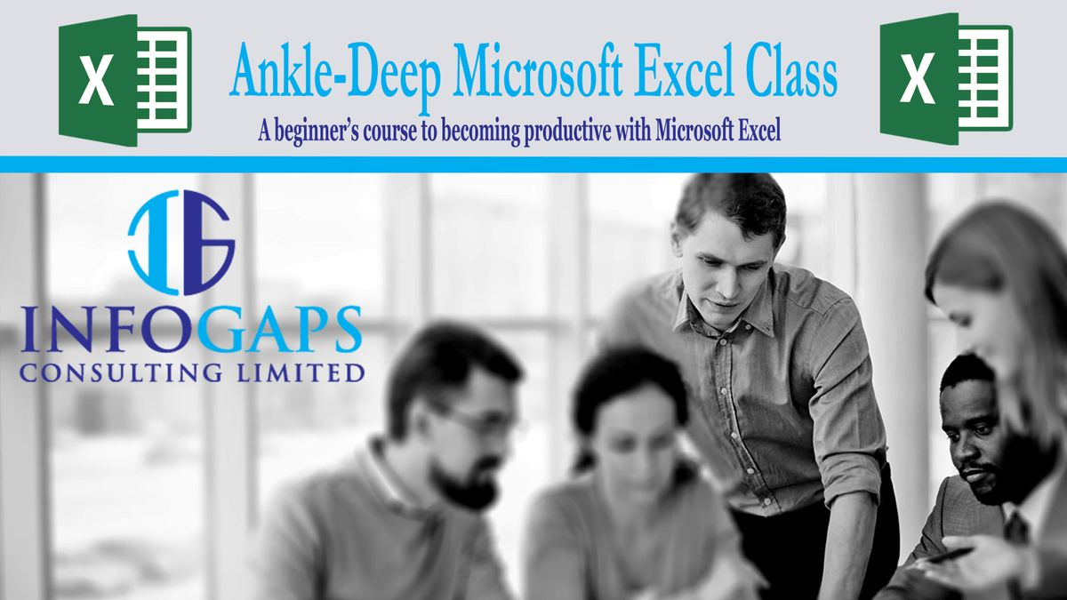 Ankle-Deep Microsoft Excel Training (Beginners Lev