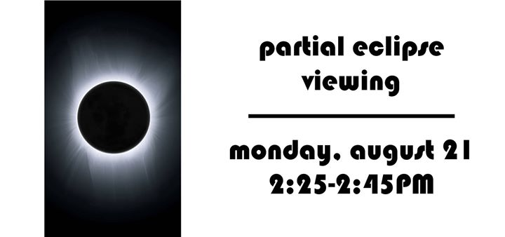 Partial Eclipse Viewing