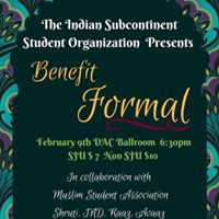 ISSO Benefit Formal 2018
