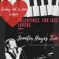 Jennifer Hayes Trio with Jodi Proznick and Tilden Webb