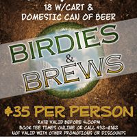 Birdies &amp Brews
