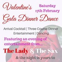 Valentines Gala Dinner Dance-Saturday 17th February