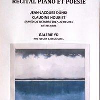 Rcital Piano et Posie