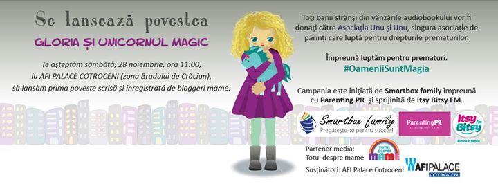 Lansare poveste Gloria i unicornul magic