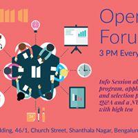 Open Forum - NUMA Season 3 Acceleration Program