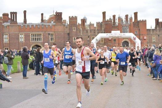 The Hampton Court Palace Half Marathon