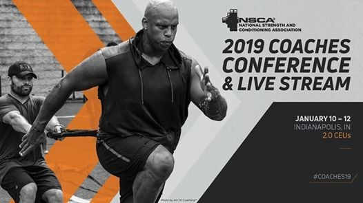 NSCA Coaches Conference 2019 at Indiana Convention Center