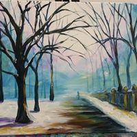 Artistic Escapes Winter Pathway