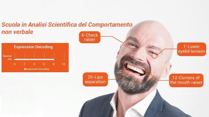 Corso di Analisi Scientifica delle Espressioni Facciali Milano 1-2 febbraio