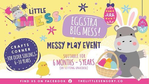 Messy Play-DerryLondonderry-Eggstra Big Mess