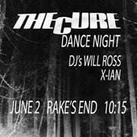 The Cure dance night
