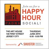PADNA Happy Hour sponsored by Shuster Property Management