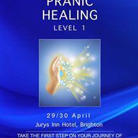 Self Development Series - Pranic Healing Level 1 - Brighton