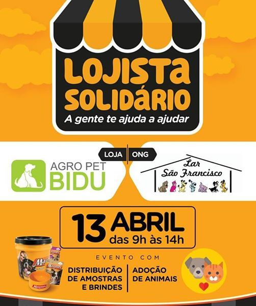 Evento em Prol da ONG Lar So Francisco