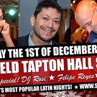 FRI 1ST DEC  Christmas Salsa Especial at Tapton Hall