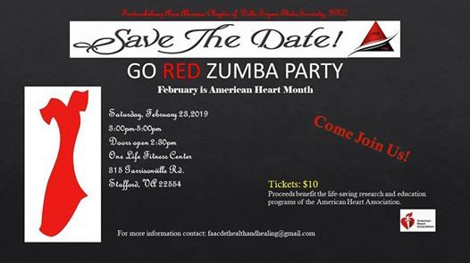 Go Red Zumba Party