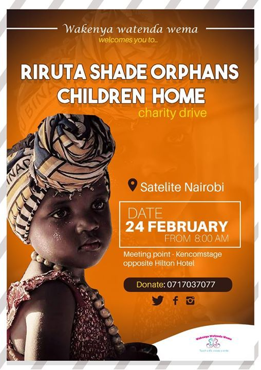 Charity Event At Riruta Shade Orphans Children Home