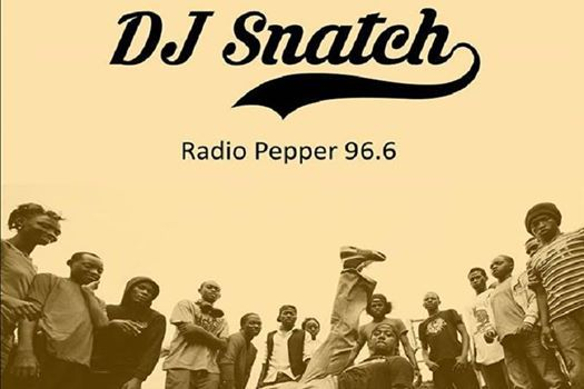 DJ Snatch on decks at Faust